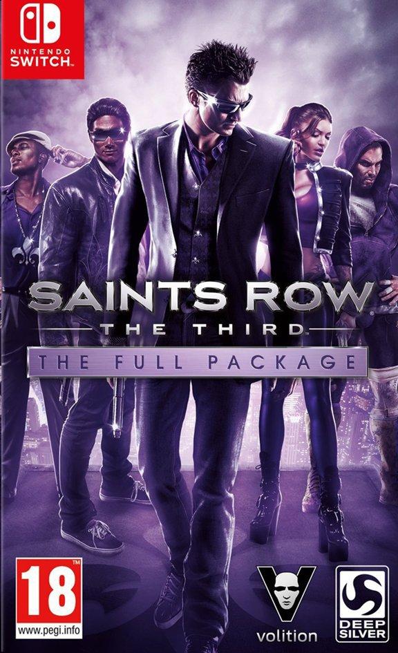 Image pour Nintendo Switch Saints Row The Third - The Full Package FR/ANG à partir de ColliShop