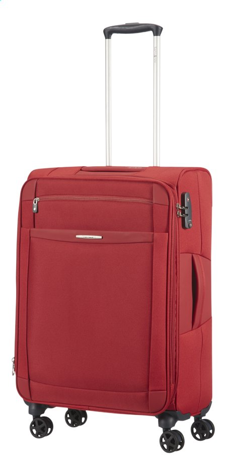 Image pour Samsonite Valise souple Dynamo Spinner EXP red 67 cm à partir de ColliShop