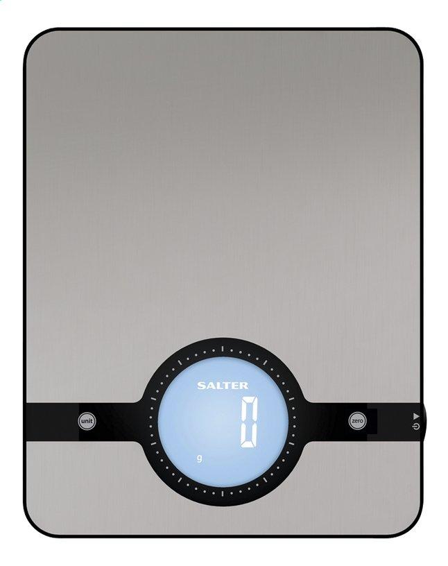 Afbeelding van Salter Digitale keukenweegschaal Geo SA 1240 zilvergrijs from ColliShop