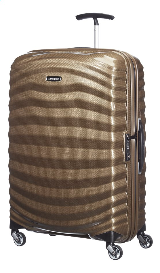Afbeelding van Samsonite Harde reistrolley Lite-Shock Spinner sand 69 cm from ColliShop
