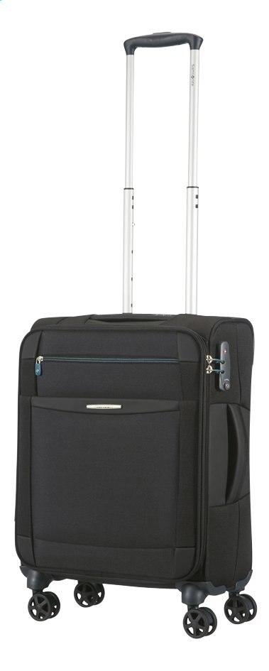 Image pour Samsonite Valise souple Dynamo Spinner black 55 cm à partir de ColliShop