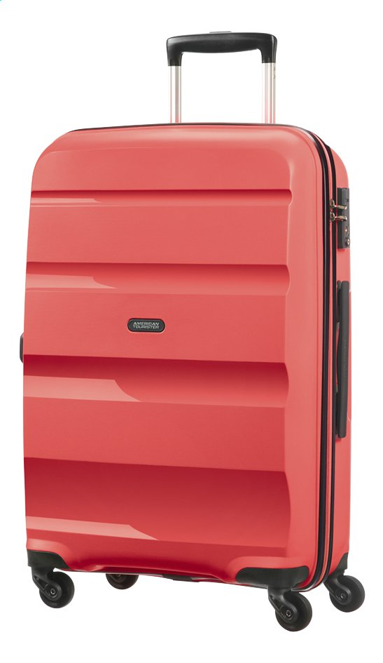 Afbeelding van American Tourister Harde reistrolley Bon Air Spinner bright coral 66 cm from ColliShop