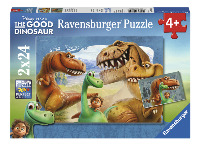 Afbeelding van Ravensburger Puzzel 2-in-1 The Good Dinosaur Speciale vriendschap from ColliShop