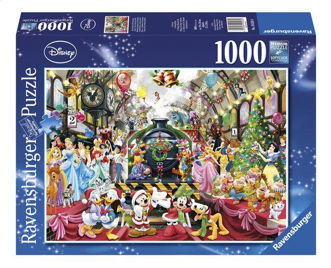 Afbeelding van Ravensburger Puzzel Disney Kerstmis op station from ColliShop