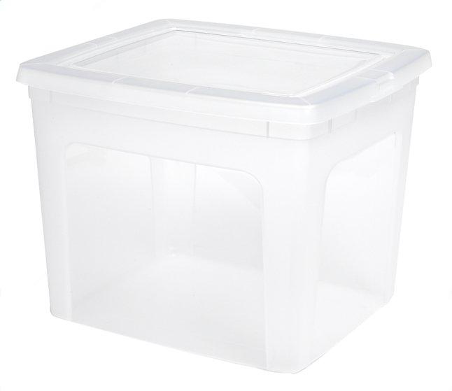 Afbeelding van Iris set van 2 kunststof opbergboxen 30 l from ColliShop