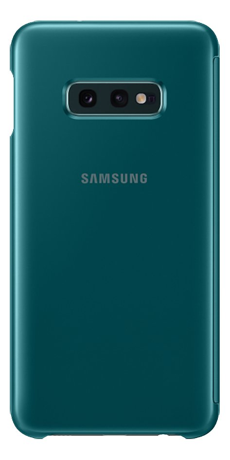 Afbeelding van Samsung Foliocover Clear View Cover voor Galaxy S10e green from ColliShop