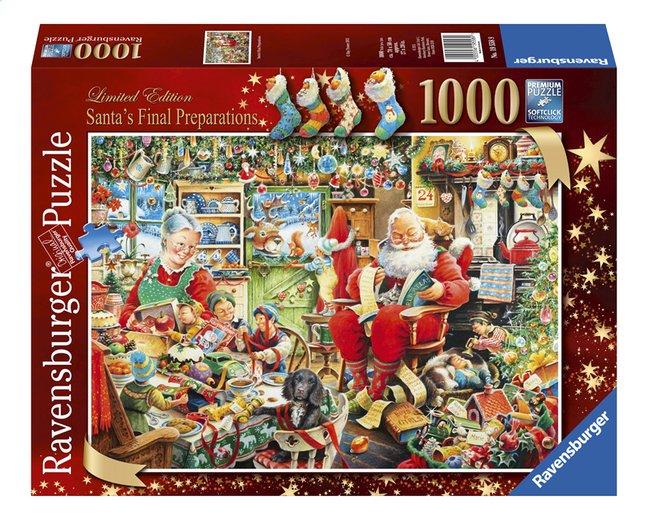 Afbeelding van Ravensburger puzzel De laatste voorbereidingen van de kerstman from ColliShop