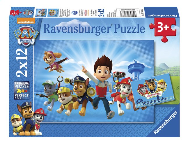 Afbeelding van Ravensburger puzzel 2-in-1 PAW Patrol Ryder from ColliShop