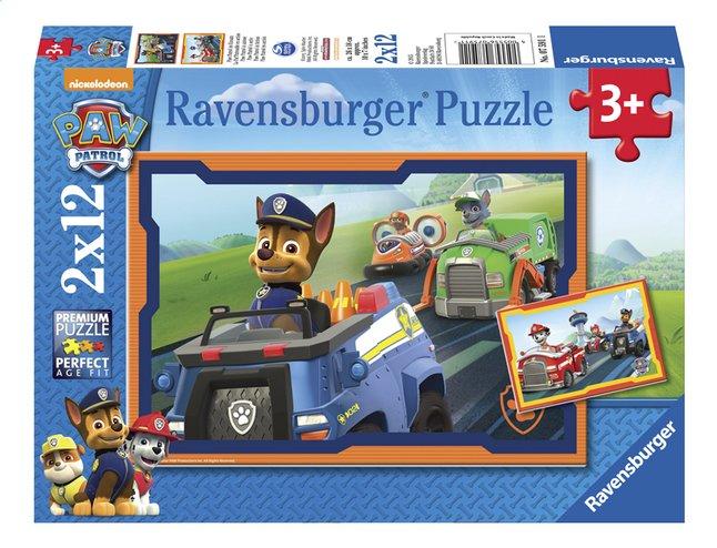 Image pour Ravensburger puzzle 2 en 1 Pat' Patrouille en action à partir de ColliShop