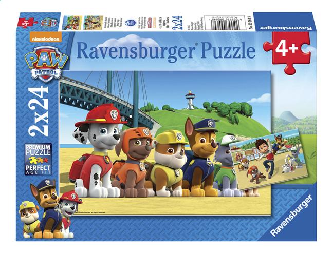 Afbeelding van Ravensburger puzzel 2-in-1 PAW Patrol Dappere honden from ColliShop