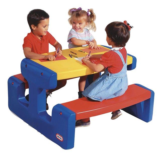 Image pour Little Tikes table de pique-nique pour 6 enfants à partir de ColliShop