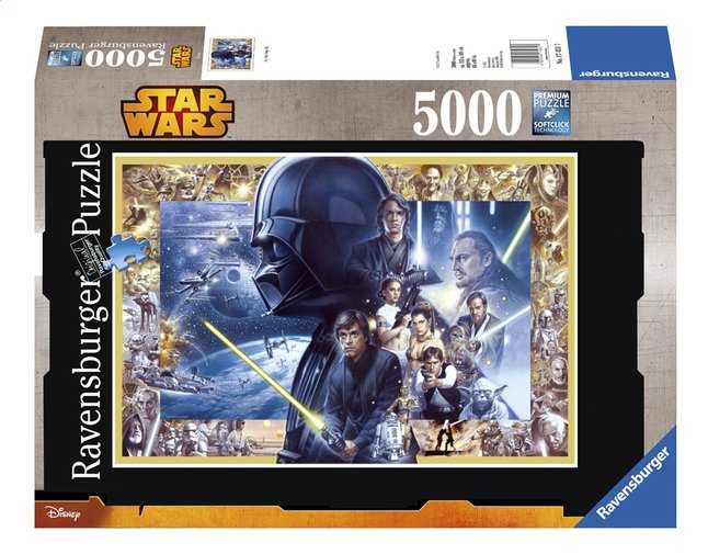 Afbeelding van Ravensburger puzzel Disney Star Wars Saga from ColliShop