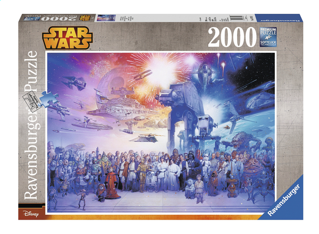 Afbeelding van Ravensburger puzzle Disney Star Wars Universum from ColliShop