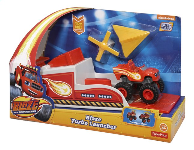 Image pour Fisher-Price set Blaze et les Monster Machines Blaze Turbo Launcher à partir de ColliShop