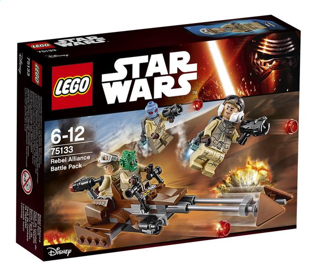 Image pour LEGO Star Wars 75133 Pack de combat de l'Alliance Rebelle à partir de ColliShop