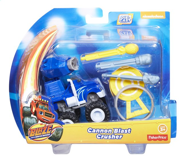 Afbeelding van Fisher-Price Speelset Blaze en de Monsterwielen Cannon Blast Crusher from ColliShop