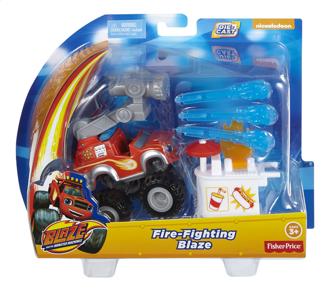 Afbeelding van Fisher-Price Speelset Blaze en de Monsterwielen Fire-Fighting Blaze from ColliShop