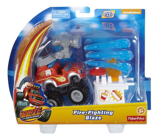 Image pour Fisher-Price set Blaze et les Monster Machines Fire-Fighting Blaze à partir de ColliShop