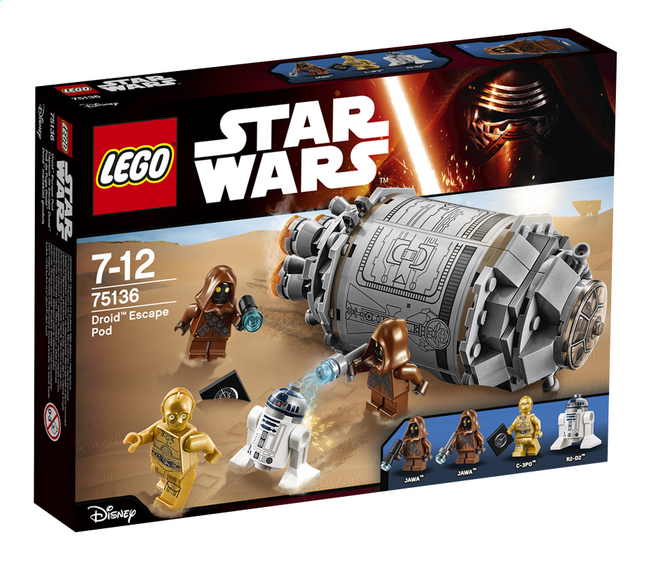 Image pour LEGO Star Wars 75136 Droid Escape Pod à partir de ColliShop