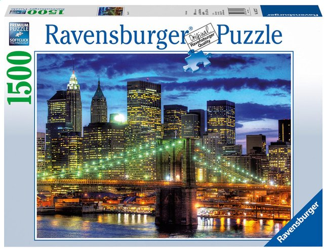 Afbeelding van Ravensburger puzzel New York Skyline from ColliShop