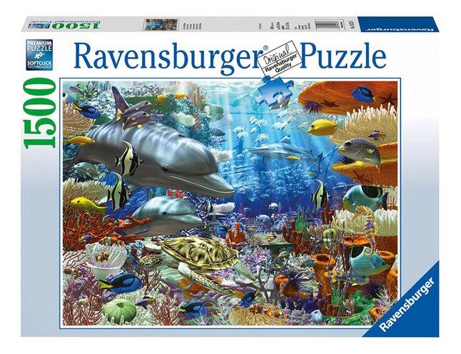 Afbeelding van Ravensburger puzzel Onderwater leven from ColliShop