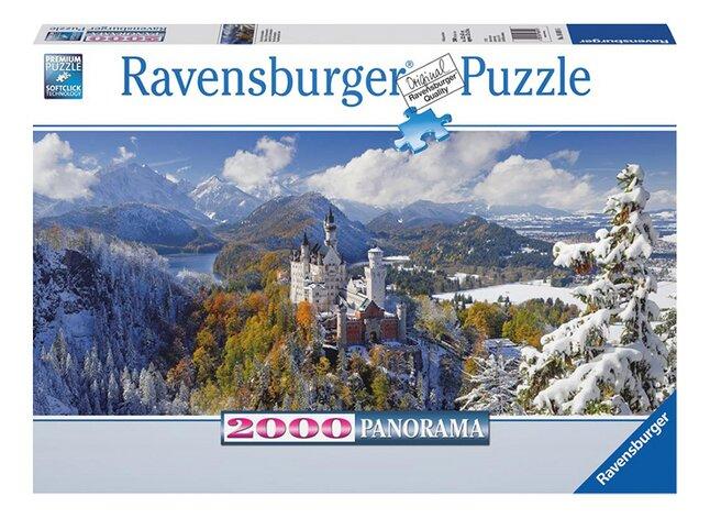 Afbeelding van Ravensburger puzzel Neuschwanstein from ColliShop