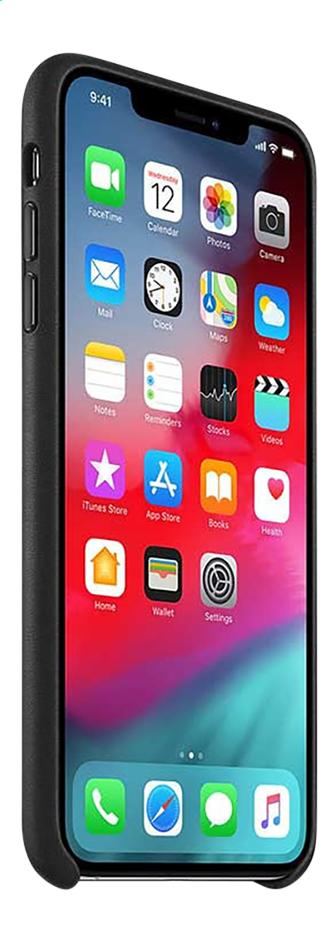 Afbeelding van Apple Cover leder iPhone Xs Max zwart from ColliShop