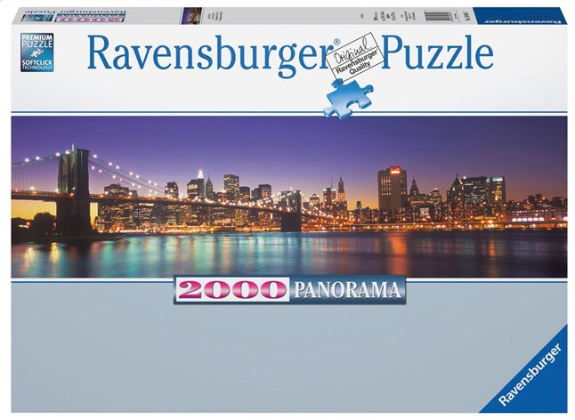Image pour Ravensburger puzzle Panorama New York City à partir de ColliShop
