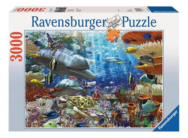 Afbeelding van Ravensburger puzzel Onderwaterleven from ColliShop