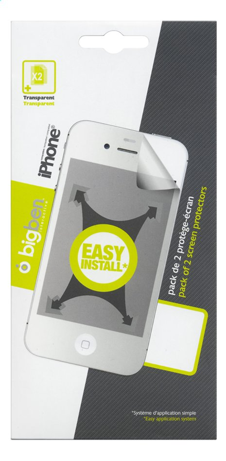 Image pour Bigben film de protection pour iPhone 5/5s/5c à partir de ColliShop