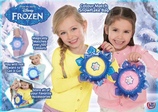 Afbeelding van Handtas Disney Frozen Colour Match Snowflake Bag from ColliShop