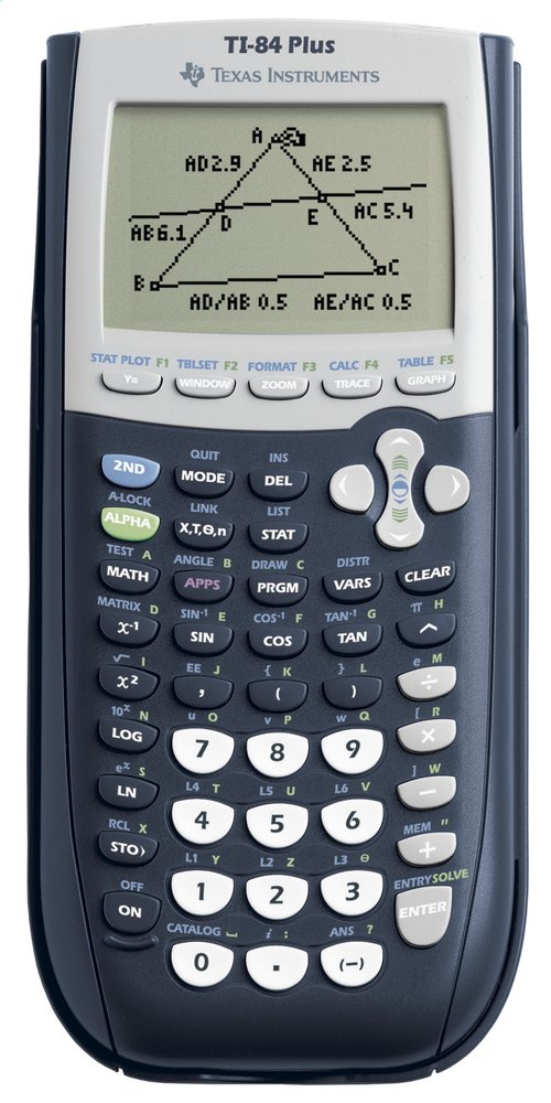 Image pour Texas Instruments calculatrice TI-84 Plus à partir de ColliShop