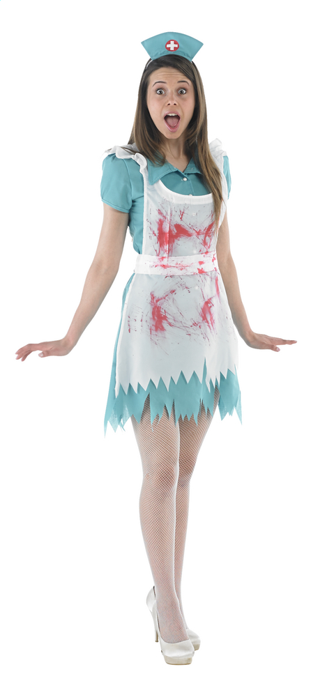 Image pour Déguisement d'infirmière ensanglantée taille 42 à partir de ColliShop