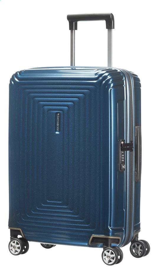 Afbeelding van Samsonite Harde reistrolley Neopulse Spinner metallic blue 55 cm from ColliShop