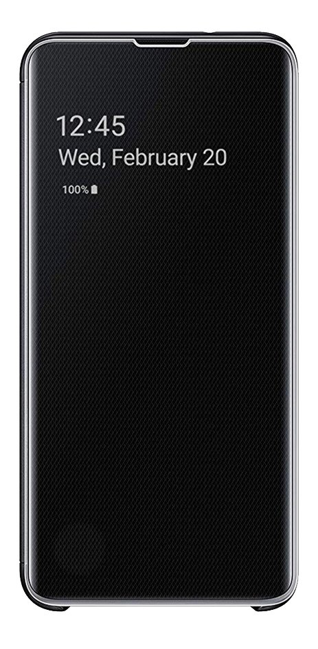 Samsung foliocover Clear View Cover pour Galaxy S10 noir