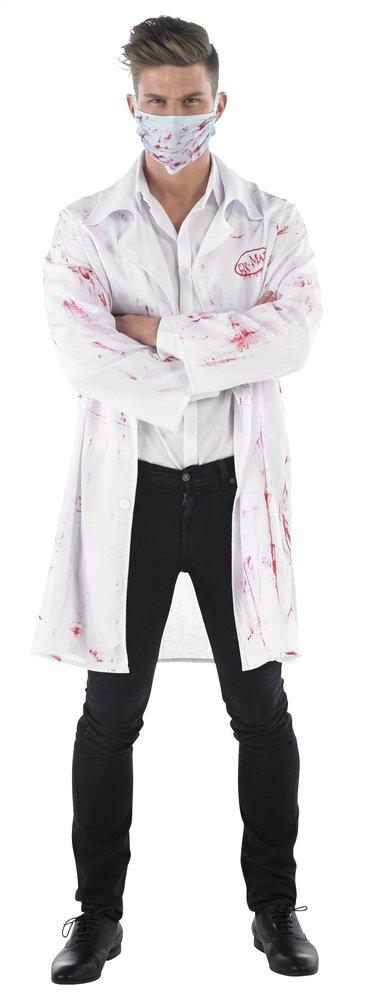 Afbeelding van Verkleedpak dokter één maat from ColliShop