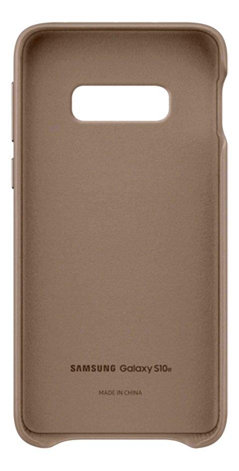 Afbeelding van Samsung Leather Cover voor Galaxy S10e grey from ColliShop