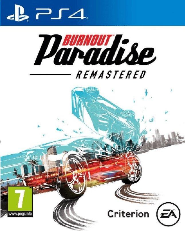 Image pour PS4 Burnout Paradise Remastered FR/ANG à partir de ColliShop