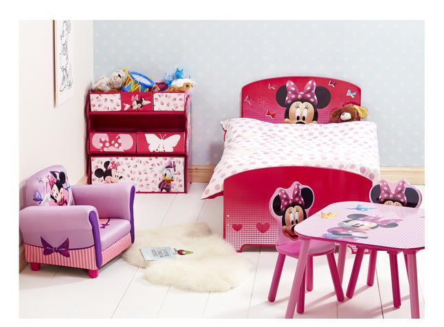 Afbeelding van Tafel met 2 stoeltjes Minnie Mouse from ColliShop