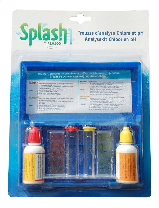 Afbeelding van Realco controlekit voor pH en chloor from ColliShop