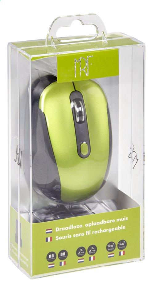 Image pour Souris sans fil rechargeable vert/noir à partir de ColliShop