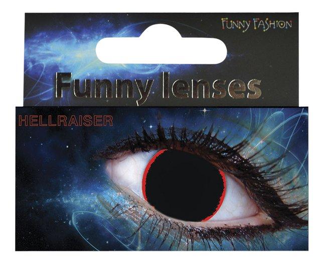 Afbeelding van Funny Fashion daglenzen Hellraiser from ColliShop