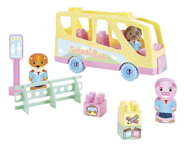 Abrick Tweepop Schoolbus