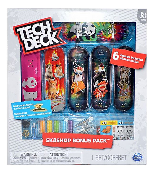Afbeelding van Tech Deck Skate Shop Bonus Pack Enjoi from ColliShop