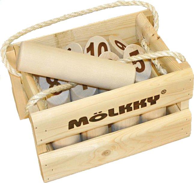 Afbeelding van Tactic Mölkky in houten kist from ColliShop