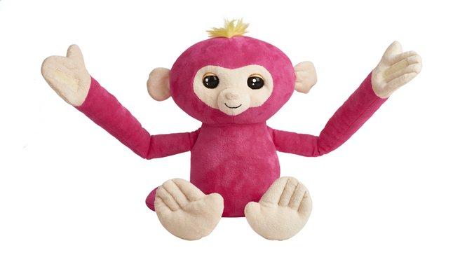 Fingerlings peluche interactive Hugs rose
