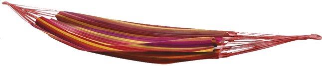 Afbeelding van Bo-Garden eenpersoonshangmat Rumba rood/geel from ColliShop