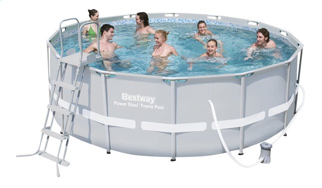 Image pour Bestway piscine Power Steel Frame diamètre 4,27 m à partir de ColliShop