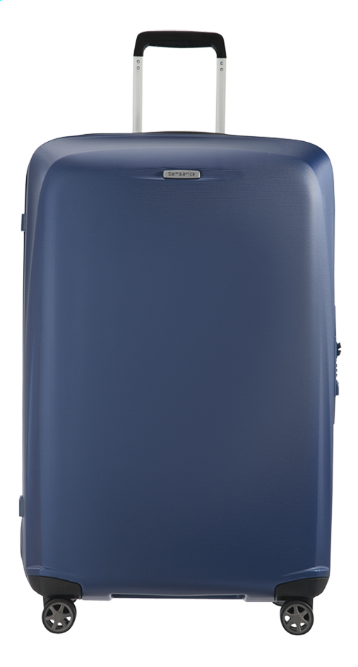 Afbeelding van Samsonite Harde reistrolley Starfire Spinner blue 75 cm from ColliShop