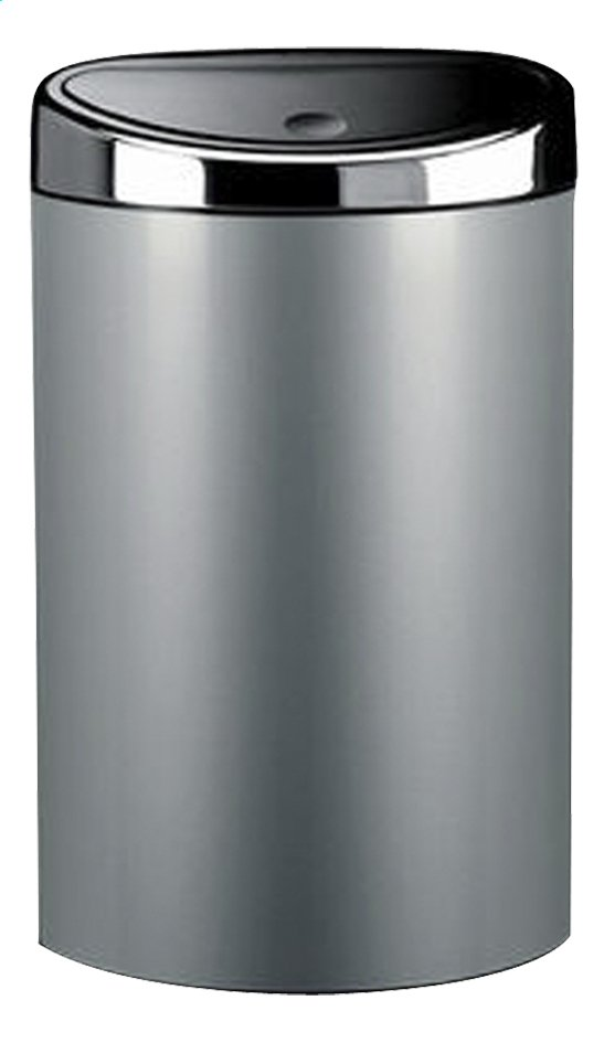 Afbeelding van Brabantia afvalemmer Touch Bin 40 l metallic grijs from ColliShop